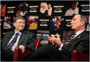 Bill Gates, Bloomberg Launch Worldwide Anti-smoking Drive