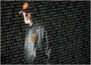 Vietnam War Memorial Draws Heavy Crowds