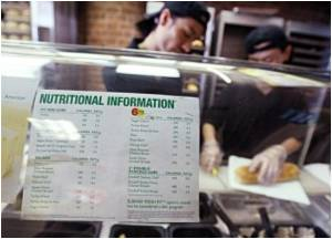 Publish Calorie Counts, New York Fast Food Joints Told