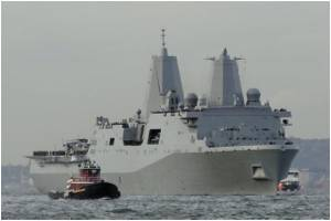 Anchoring Lives Aboard Warship: Nimitz