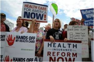 Obama's New Politics on Line in Health Showdown