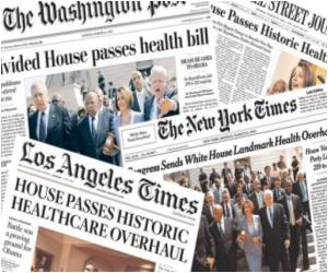 Health Care Legislation Received Media Support in US