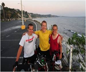 Charity is the Aim as Three Brothers Bike Across Americas