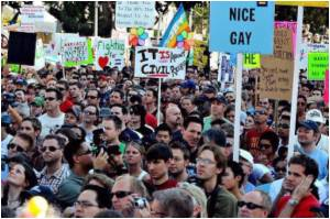 Thousands Across US Protest California Gay Marriage Ban