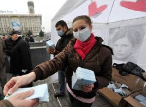 Flu Epidemic Slows Down in Ukraine