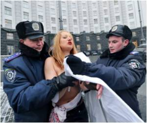 Ukrainian Women's Group's 'bare Breasted Campaign' Makes The World Take Notice