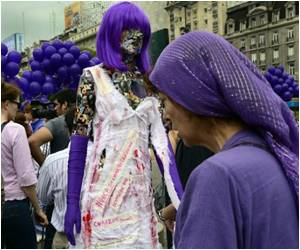 Violence Against Women Combated by Exhibit in Argentina