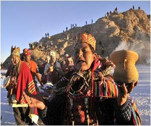 Bolivians Mark the Aymara New Year