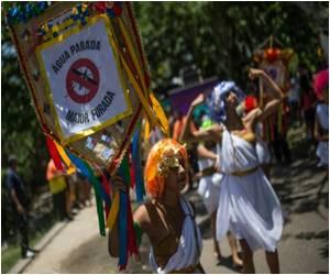 Rio De Janeiro Carnival Goers Celebrate Olympics but Fear Zika Virus