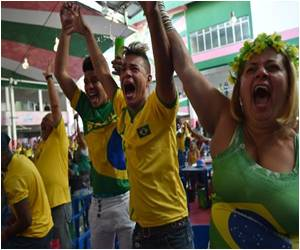 Football, Not Drums, Shakes Samba School on World Cup Win Day