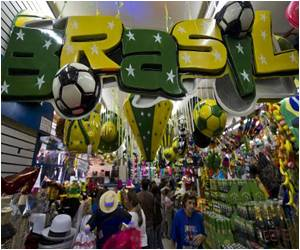 Fans Go the Wild Way to Celebrate World Cup