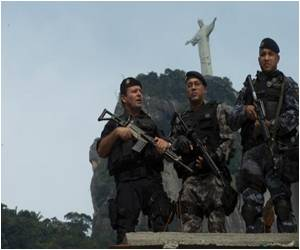 Police Take On Drug Gangs Ahead of World Cup in Brazil