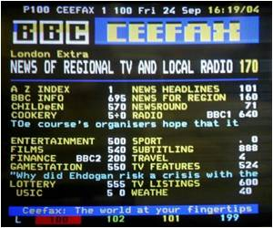 World's Oldest Teletext Service Ceased