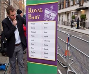 Study Reveals Royal Baby Names Aren't Always Copied by Public