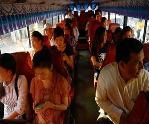 First Public Buses Launched in Cambodian Capital of Phnom Penh in Over a Decade