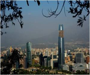 Santiago Skyline Altered by Controversial Skyscraper