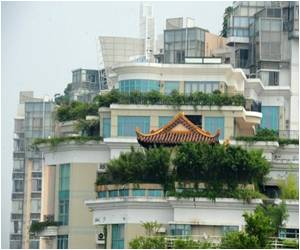 China Owns the Latest Rooftop Temple