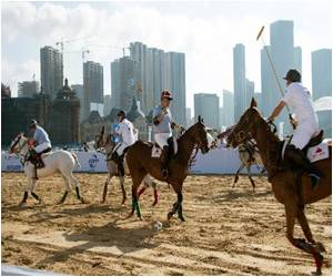 'Polo' a Rich Man's Game in China