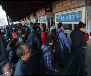 The World's Largest Annual Migration Begins in China