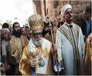 Historic Mass in North Cyprus Looks Miraculous