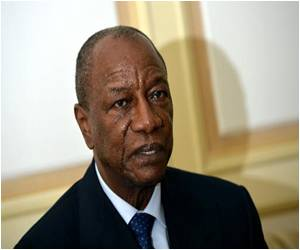 Guinea President Says That the Small West African Nation is 'Still at War' Against Ebola