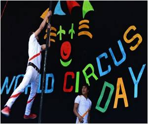 Circus Brings moments of joy to the dusty city of Afghanistan