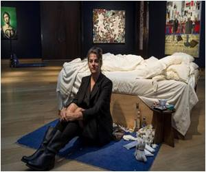 British Artist Tracey Emin's Unmade Bed Sells for £2.2 Million