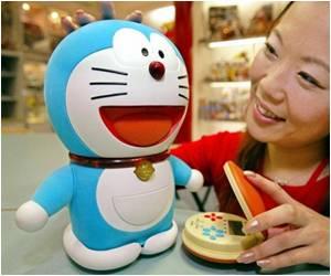 Residence in Japan City for Robot Cat Doraemon