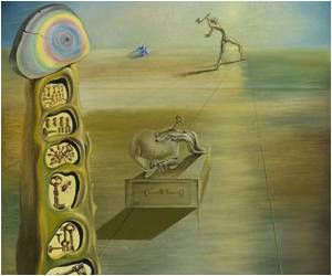 Two Paintings Identified as Salvador Dali's Work