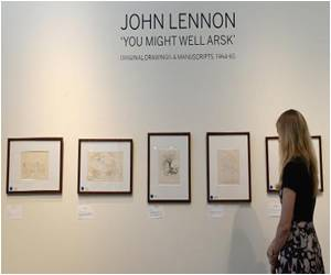 John Lennon Drawings and Writings Fetch Four to Five Times Their Estimated Worth