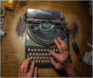 Typewriter Aficionados Rewrite History In US