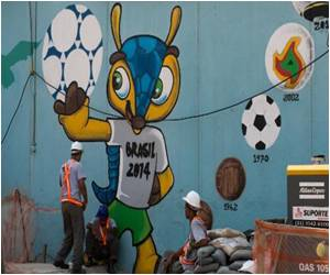 Good, Bad, Ugly of World Cup Shown by Graffiti