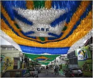 England's Manaus Locals Welcome Fans to the