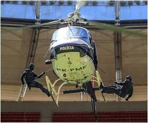 Brazil's Gear Up World Cup Security