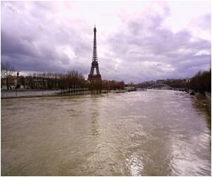 Paris at High Risk from Flood: OECD