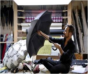 Ever Wonder About Umbrellas? In Paris, Umbrellas Which Outlast Their Owners Are Being Built