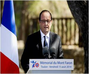 President Francois Hollande Leads 'Southern D-Day' Tributes