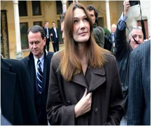 Carla Bruni Caught in the Eye of a Twitter Storm