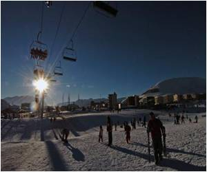 Early Skiing at Popular French Alps Resort Due to Abundant Snowfall