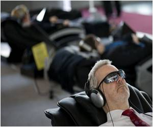 Indulge in the Futuristic Massage at The World's Top IT Fair