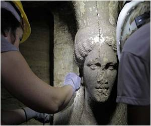 Excitement is High as Stunning Statues Found at Ancient Greek Tomb