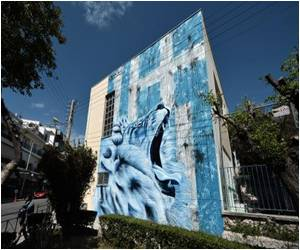 Street Art Vents Anger Over Austerity in Athens