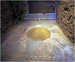 Largest Antique Tomb Uncovered in Greek Myth Mosaic