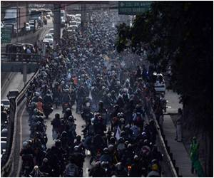 Guatemala Motorcyclists Gather for Annual Pilgrimage Across Central America