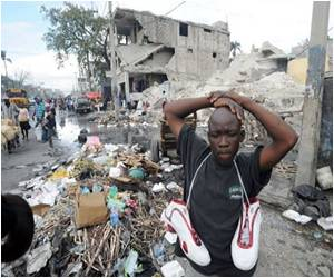 Victims of Haiti Quake Confined in a Time Warp
