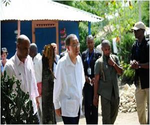 UN Chief Vows to Help Haiti End Cholera Epidemic
