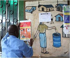 Ebola-Hit Liberian Slum Combats Cynicism as Well