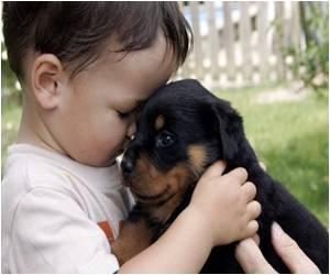 Pet Therapy to Cheer Up Kids