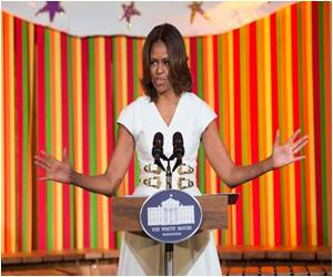 Michelle Obama Slams Republican Bid to Change Nutrition Standards in School Lunches