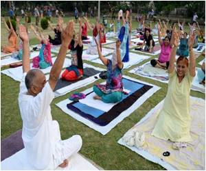 Indian Government Sending Text Messages to Promote the International Yoga Day